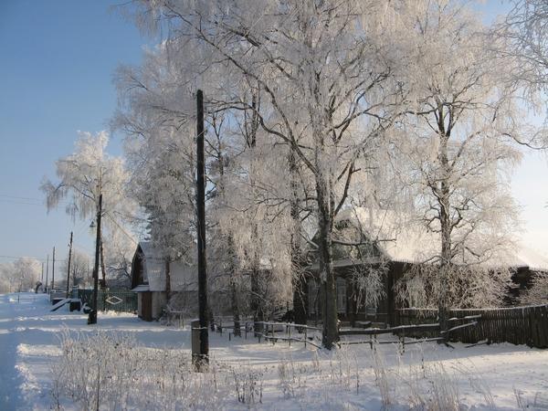 Деревня на севере от южной отличается не только климатом, но и жизненным укладом