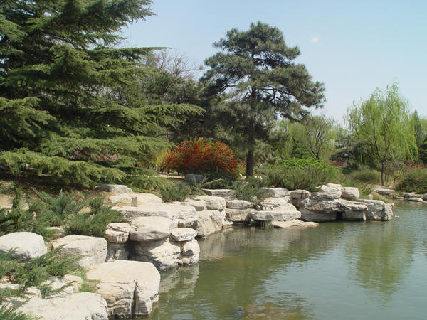 Спокойная вода - зеркало мира, воплощение покоя