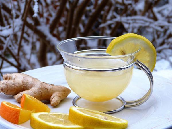 Имбирь и лимон помогут противостоять гриппу и простудам