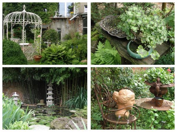 Тематические сады, отражающие увлечения хозяев, всегда будут существовать