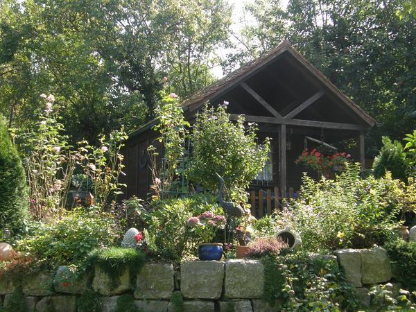 Террасирование и использование подпорных стен - традиционный ландшафтный прием