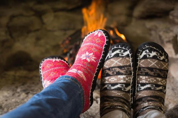 Ноги обязательно нужно держать в тепле