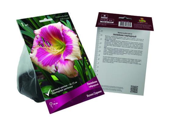 На упаковке есть не только фотография выбранного сорта, но и подробная информация о нем