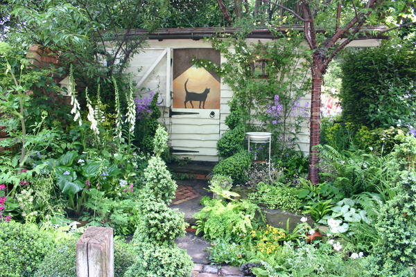 """За внешней """"запущенностью"""" сада стоит большой труд ландшафтного дизайнера"""