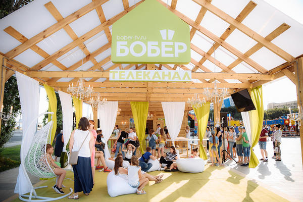 """Телеканал """"Бобер"""" принял участие в летних фестивалях DOM.RU"""