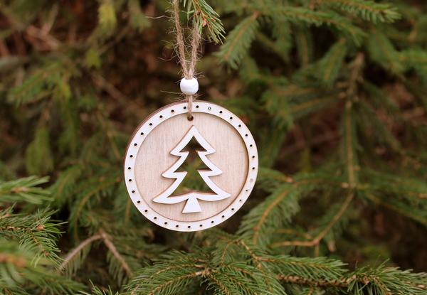 Новогодняя елка: в моде минимализм