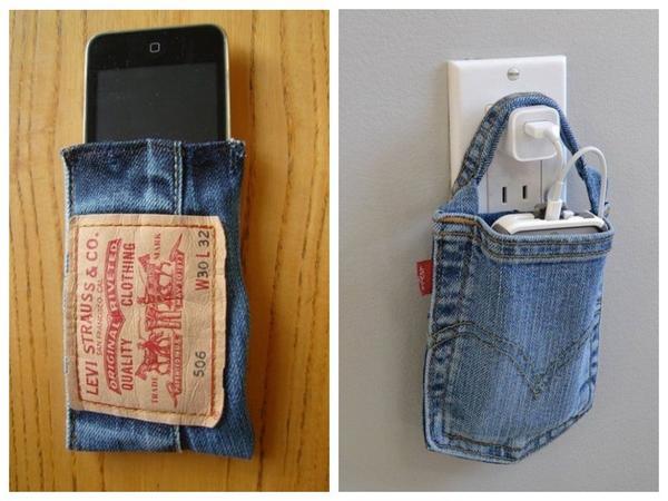 Чехол-сумочка для зарядки телефона - блестяще придумано!