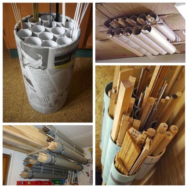 Простые органайзеры для хранения мелких расходных материалов