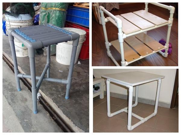 Простая, но удобная мебель подойдет для мастерской или гаража