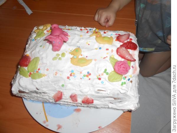 самодельный торт