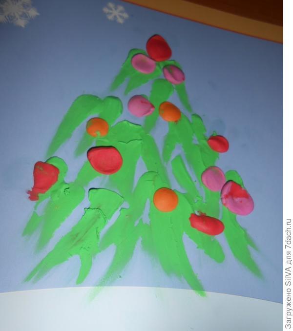 самодельная рождественская ель