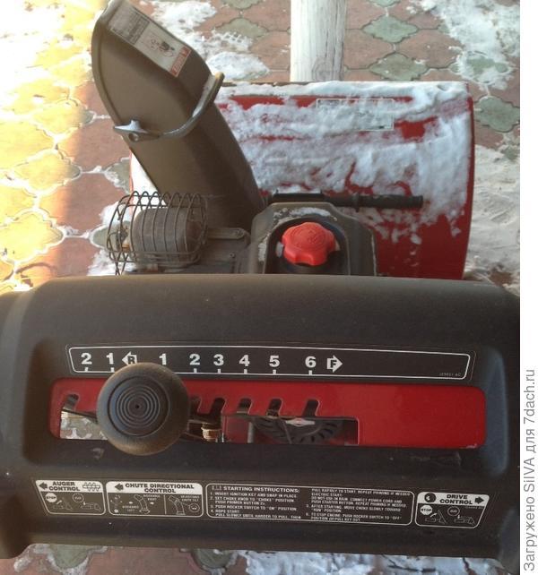 снегооуборщик Craftsman 88690