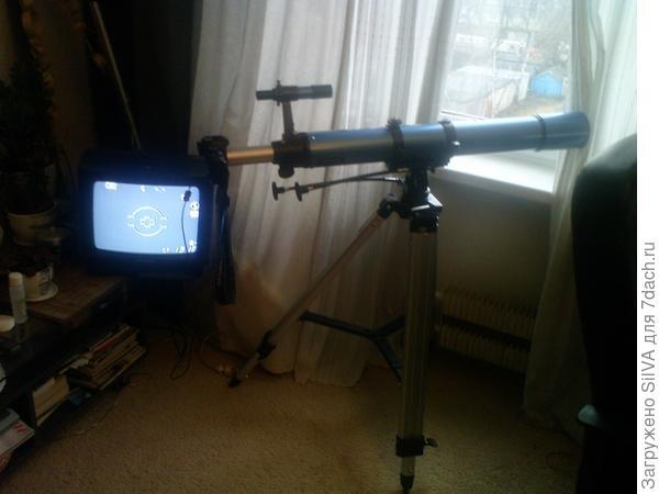 запись с телескопа