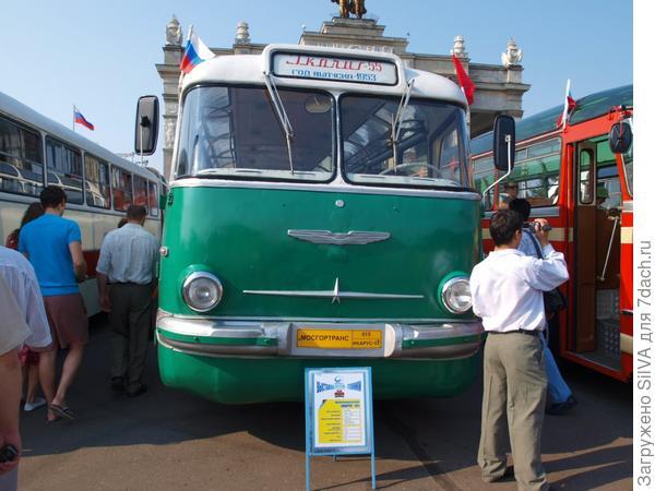 выставка ретро автобусов