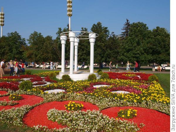 ВДНХ цветочные произведения 2007 года