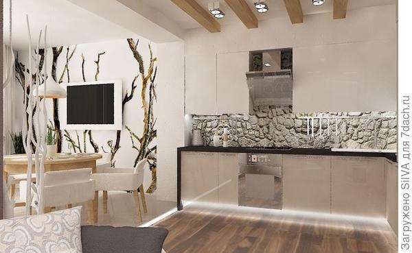 зонирование высушенными древесными композициями