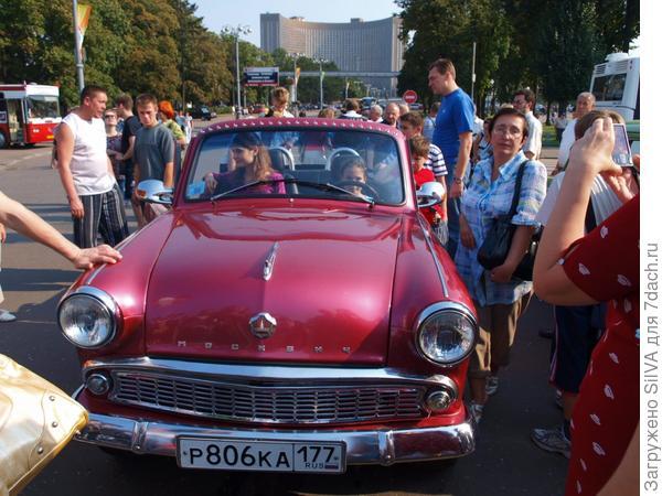 советское авто, выставка ВДНХ 2007 год