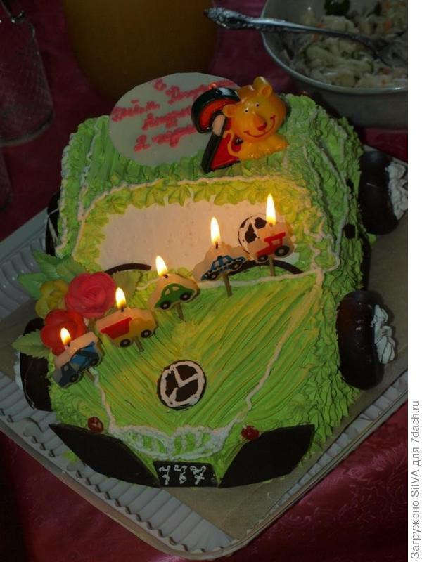 Наш тортик на 2 года