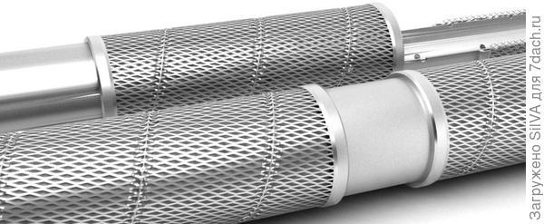 сетчатый фильтр для скважины с фильтрующим элементом сетка