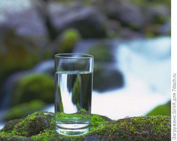 Чистая артезианская вода