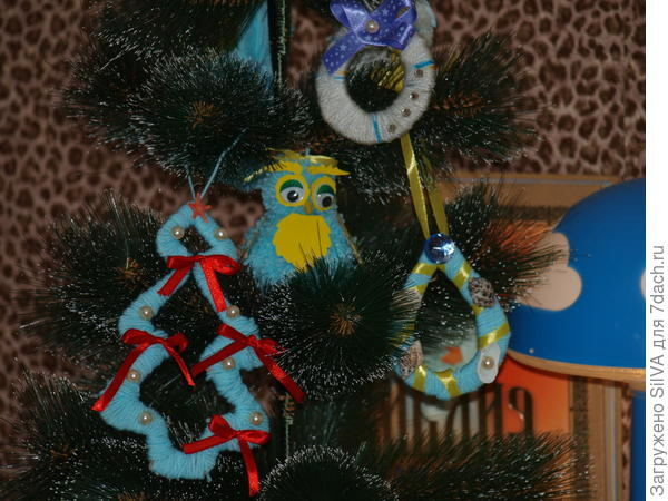игрушки из нитей