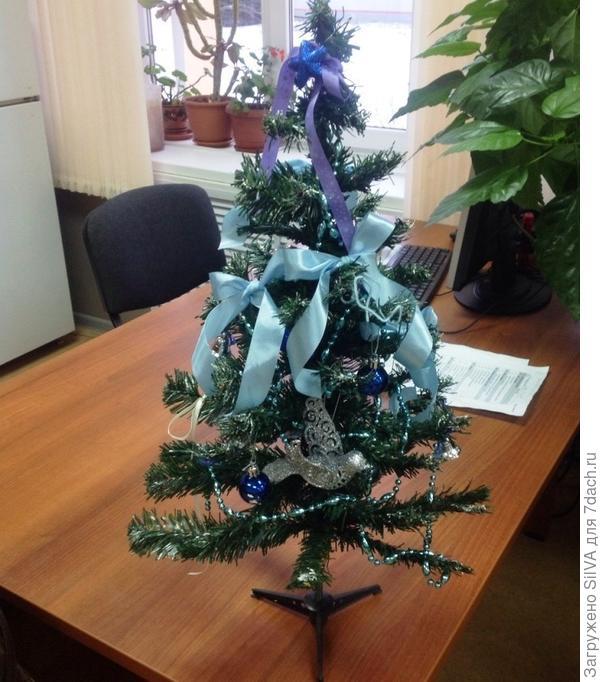 моя елка на работе