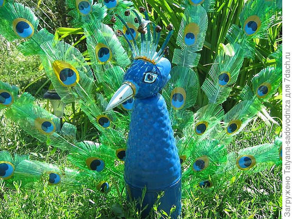 животные из пластиковых бутылок, фото с сайта masterclassy.ru