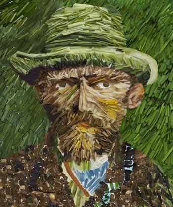 Ван Гог из лука порея