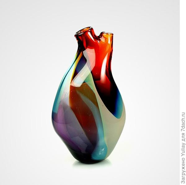 ваза - сердце