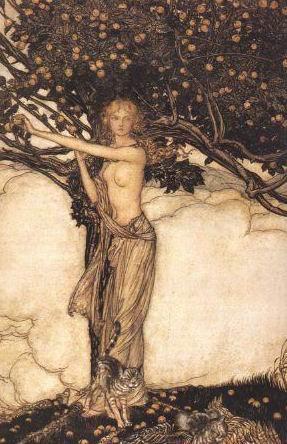 скандинавская богиня Фрея - любви, плодородия и красоты