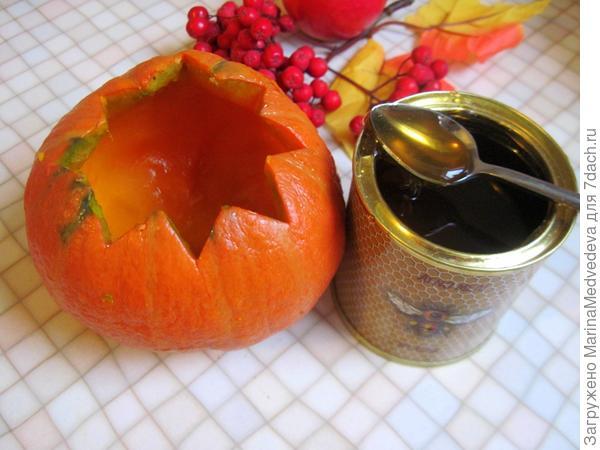 Осенняя сладкая тыковка