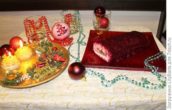 салат на столе