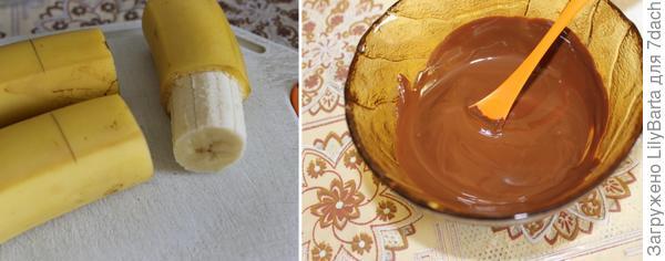 готовим подсвечник из шоколада