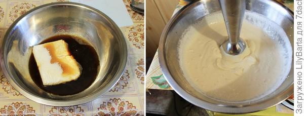 готовим творожный крем с кофе