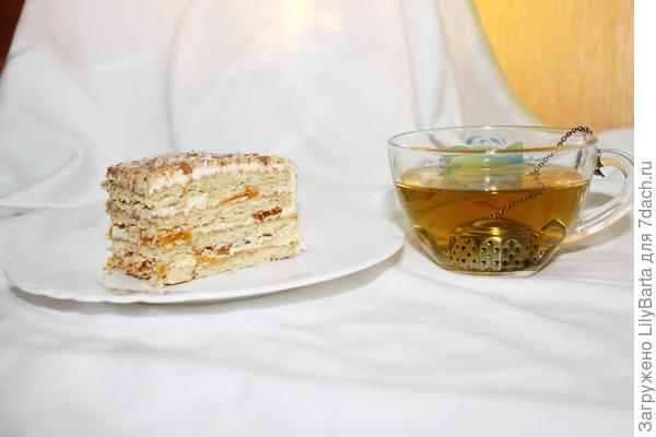 домашний торт из печенья