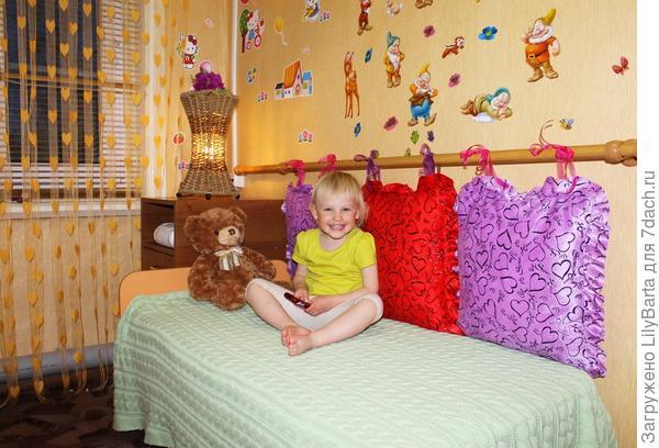 комната ребенка на даче