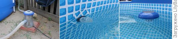 очищение воды в бассейне