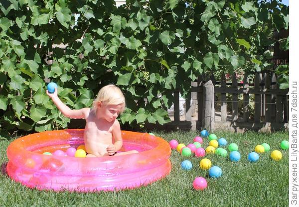 простейший надувной бассейн