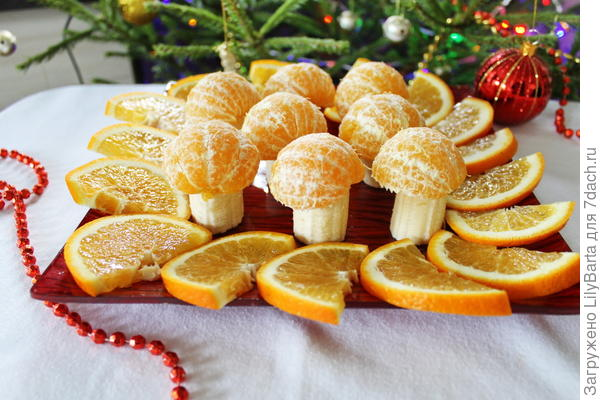 грибы из фруктов