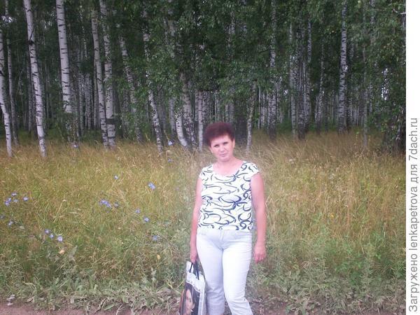 возле леса