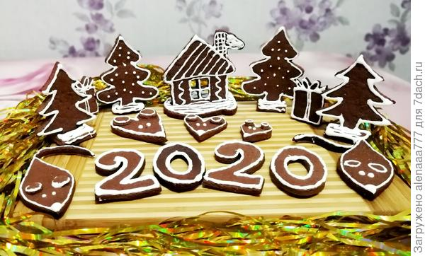 Имбирно-медовое печенье «Мышиная сказка» — десерт к Новому году - пошаговый рецепт приготовления с фото