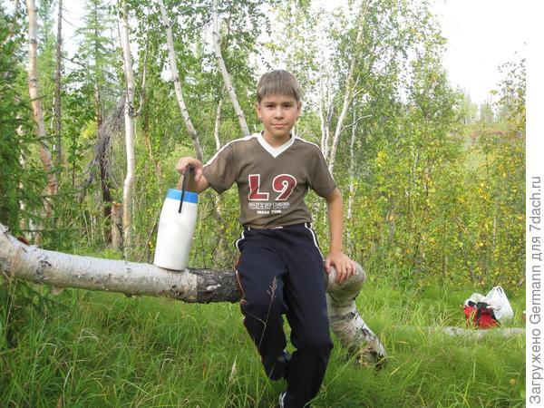 В лес за грибами и ягодами)