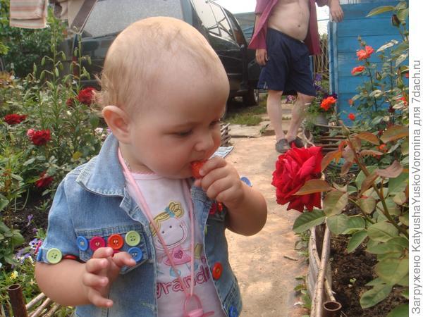 мой любимые сестрички на даче)))