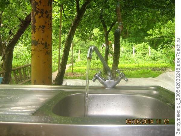 на кухне вода