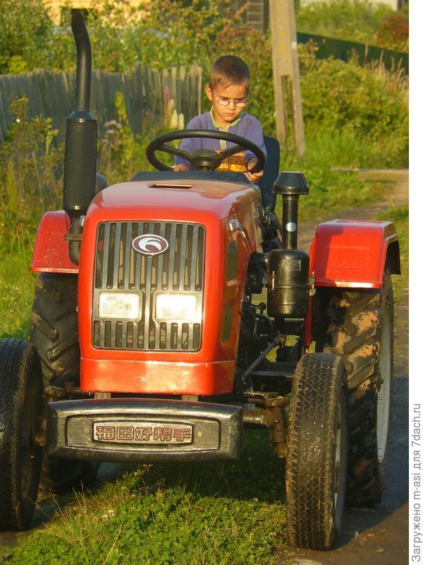 А мы осваиваем вот такую технику) Кому то мини-трактор, кому то мега-кабриолет)