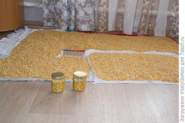 Консервированная кукуруза по-деревенски