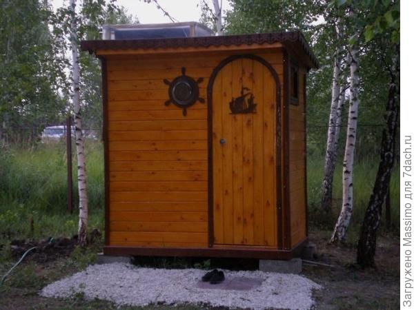 Летний душ, сделанный своими руками. Фото автора