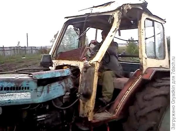трактор-старичок