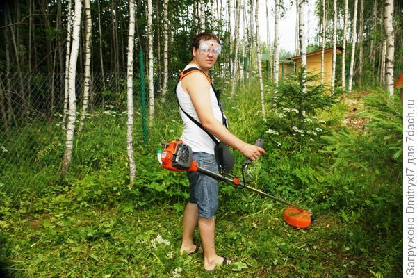 Любимый садовый Агрегат. Без него никак