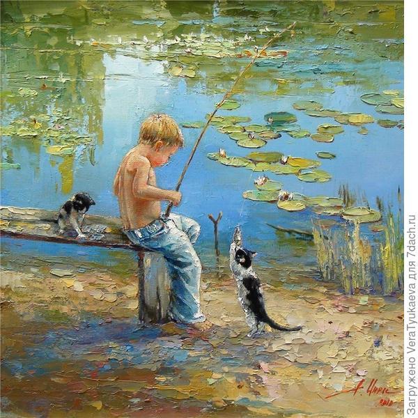 Картина Инессы Морозовой.